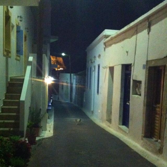 Village of Chora, Kythera Greece