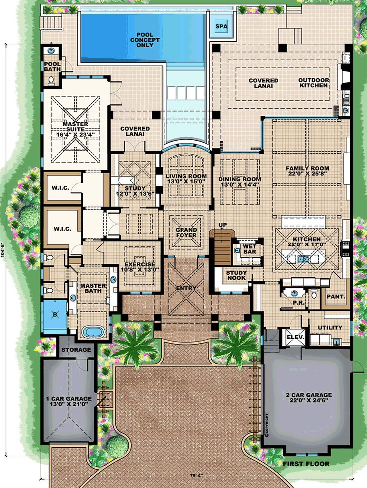 best 25 mediterranean houses ideas on pinterest - Mediterranean House Plans