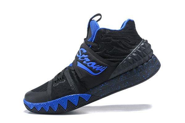 new arrival 80db0 7896e Nike Kyrie S1 Hybrid Black-Royal Blue