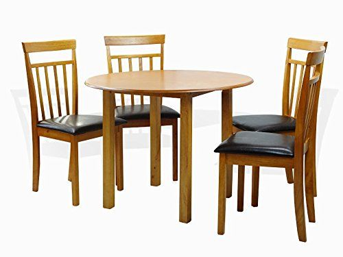 Astounding Sunbear Furniture Dining Kitchen Set Of 5 Piece Round Table Beutiful Home Inspiration Xortanetmahrainfo