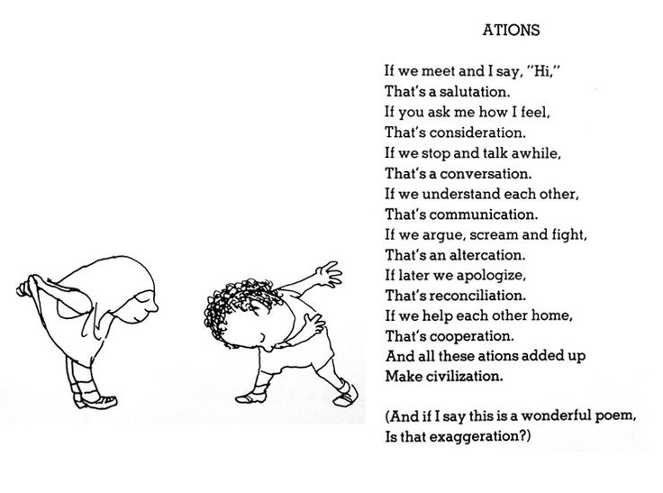 Love Shel Silverstein Poem: 89 Best Images About Poetry And Poems For Kids On