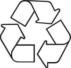 Resultado de imagem para símbolo reciclagem
