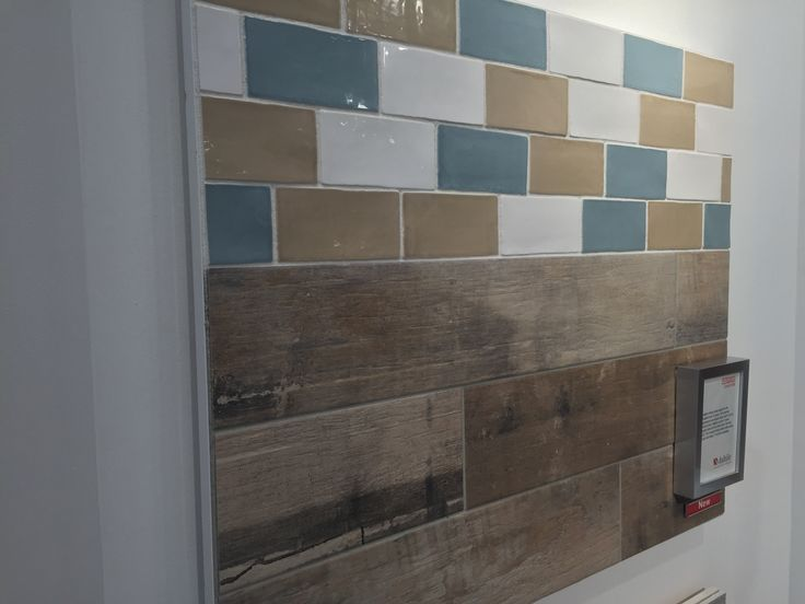 Wood Look Tile Subway Tiles And Tile On Pinterest