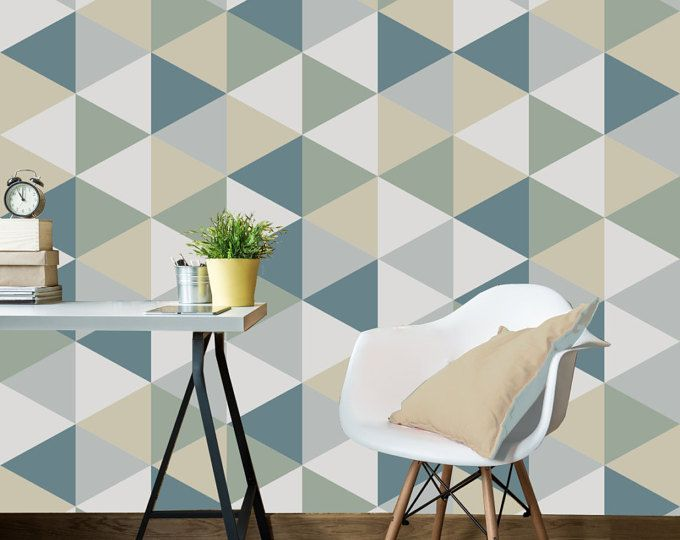 This striking textured self adhesive geometric wallpaper will bring joy to your home or office. You can be creative as you like when applying our self adhesive wallpapers. Cover an entire wall, a column or a piece of furniture! This geometric pattern is a fantastic way to brighten up small or large spaces.  *SIZES*  Half Roll: 22 x 48 Full Roll: 22 x 96 Measure the area you would like to cover (width & height) and work out how many rolls you will need to order. If you are unsure send us a...