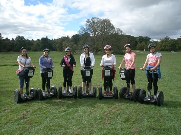 Segway Polo Hen Package. Another super different and popular hen party idea in the adventure capital of Ireland