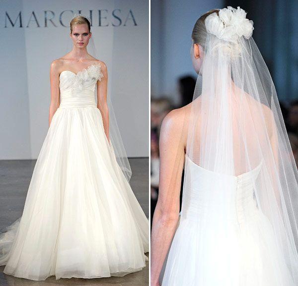 Vestidos de noiva Marchesa - Spring 2014 - Constance Zahn