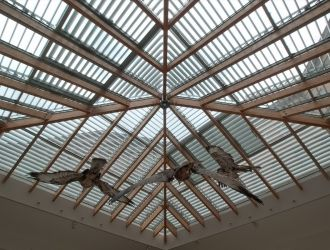 Magyar Természettudományi Múzeum, Budapest, #árnyékolók, #építészet, #alumínium, #üvegtető