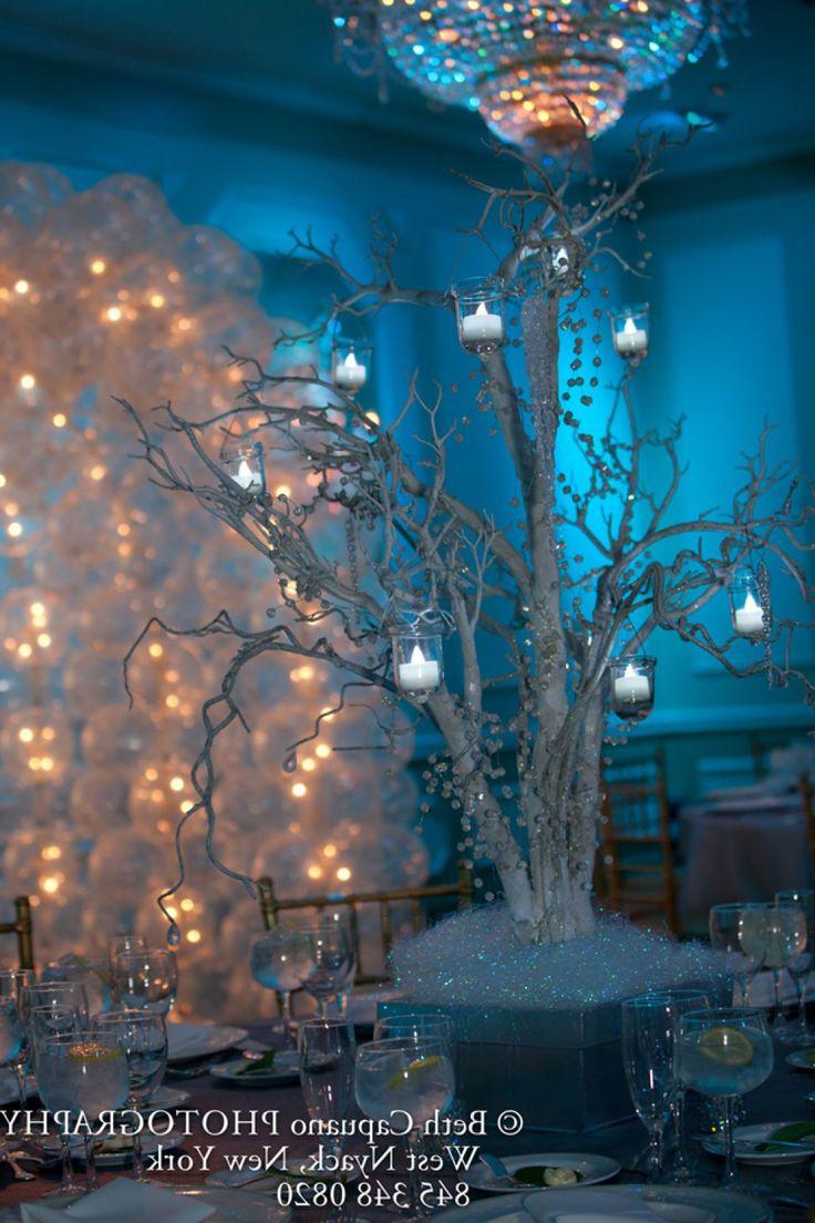 quinceanera decor winter wonderland | Winter Wonderland Centerpieces Sweet 16