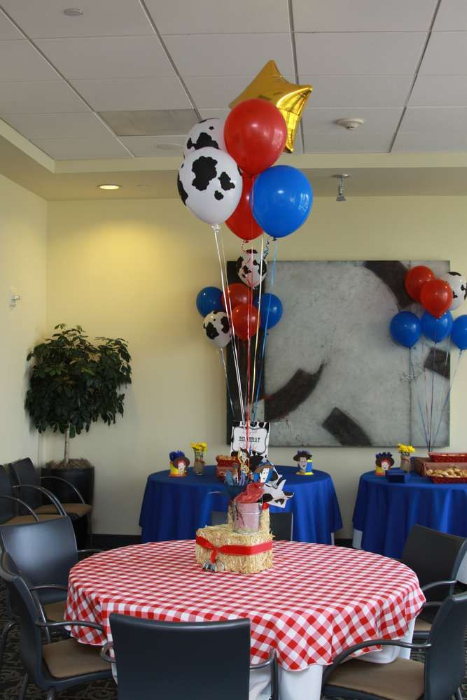 Toy Story/Cowboy Birthday Party Ideas | Photo 30 of 38 | Catch My Party