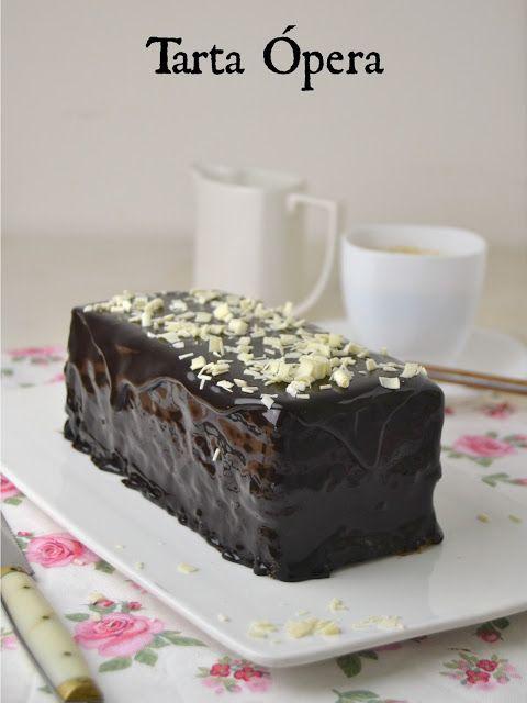 Cuuking! Recetas de cocina: Tarta Ópera clásica de chocolate y café