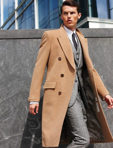 Mens camel overcoats