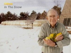 "Growing lemons and oranges in Nebraska? Impossible, would be the first word most people would think of, but not Russell Finch. He bills himself as the largest citrus grower in all of Nebraska. Besides citrus he also grows pears, avocados, figs, roses, yucca, agave, hibiscus, and hundreds of other types of flowers, fruits, vegetables, trees and plants. His secret? A home-built ""underground"" greenhouse."