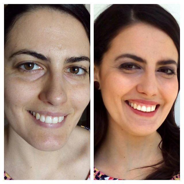 Before and after. Bridal make up test.  #makeupartist #makeup #work #model #photography #photoshoot #girl #snow #canonofficial #canonitalia #lipstick #brushes #eyes #eyeshadow #eyebrown #eyeliner #maccosmetic #makeupforeverofficial #makeuplover #nyxcosmetics #kikomilano #photographer #blushing #beforeandafter #bride #bridal