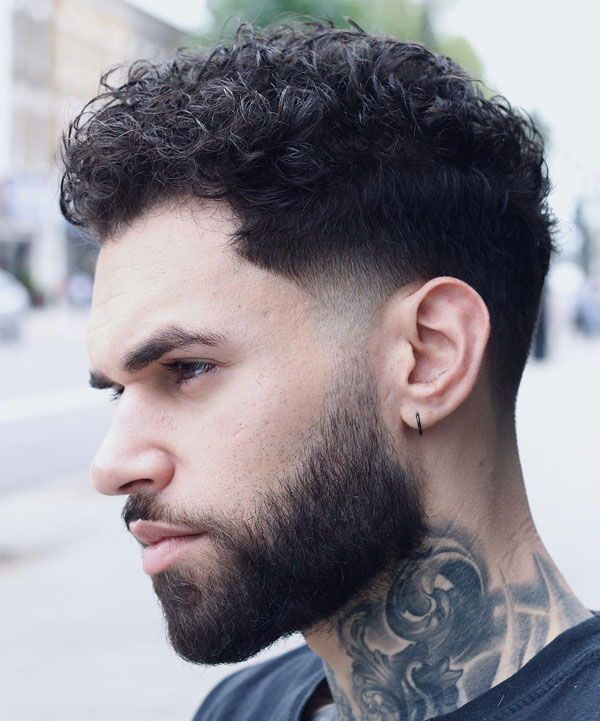 17+ Taper fade with curly hair ideas in 2021