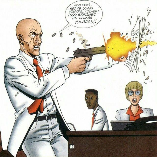 """""""Terminado """"Predicador"""", voy a echar de menos este #comic #ennis #weird #crazy #world #education #grammar #gun"""""""
