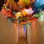 The Dale Chihuly collection at the Oklahoma City Museum of Art.