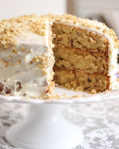 Italian Cream Cake 3 layers ... This is one of those OH MY GOODNESS Recipes. All from scratch.  YUM!
