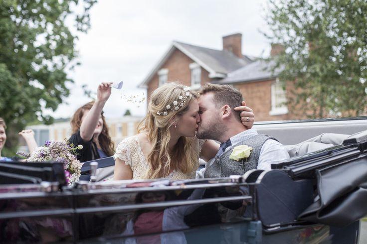 Shropshire Wedding Photography - #rollsroyce #wedding
