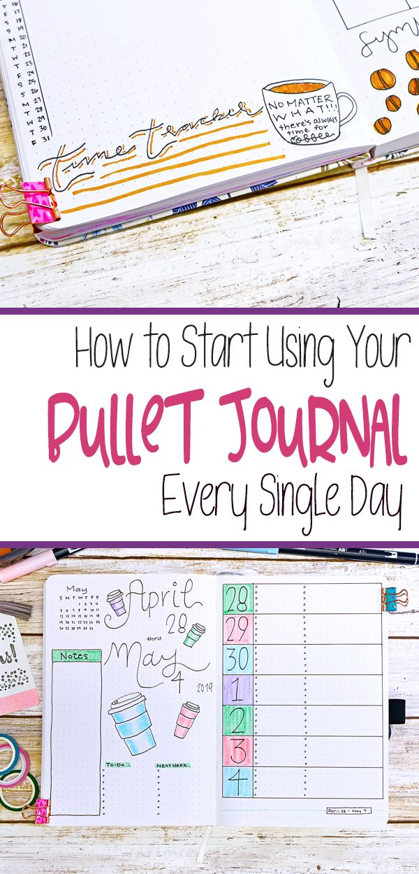 How to Start Using Your Bullet Journal Every Single Day