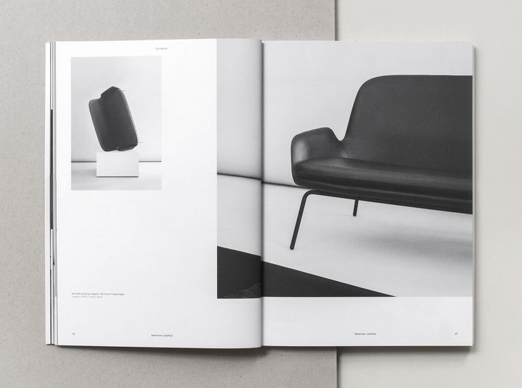 Era Sofa by Simon Legald from Normann Copenhagen Page from our Brand Book 2nd Edition designed and photographed by Norm Architects.