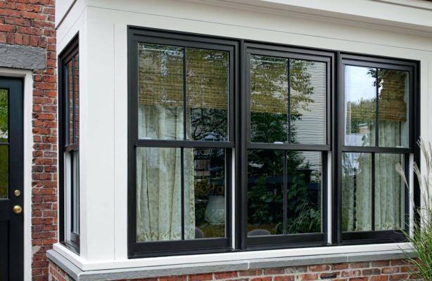 Aluminum Wood Clad Windows Black Google Search Double Hung Windows Exterior Windows Exterior Window Trim Exterior