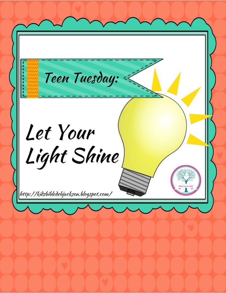 Teen girls sunday school lesson ideas — pic 6