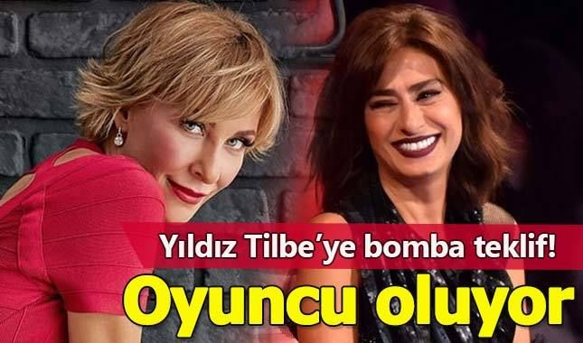 Yildiz Tilbe Ye Supriz Oyunculuk Teklifi Oyunculuk Teklif Senarist