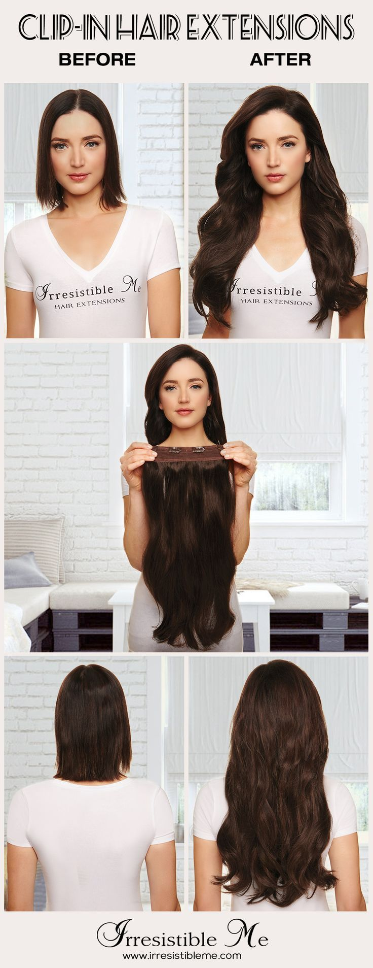 82 Best Hair Extensions Images On Pinterest Hairstyle Ideas Long