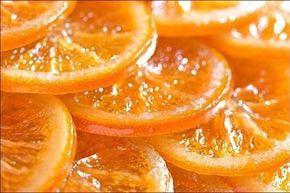 Карамелизированые апельсины