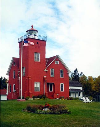 Two Harbors MN Lighthouse          Stayed overnight in this beautiful Bed & Breakfast Lighthouse.  Thoroughly enjoyed.