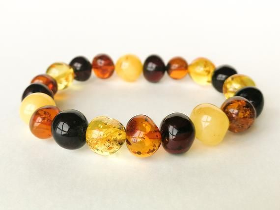 Raw NATURAL BALTIC AMBER BRACELET 31 g
