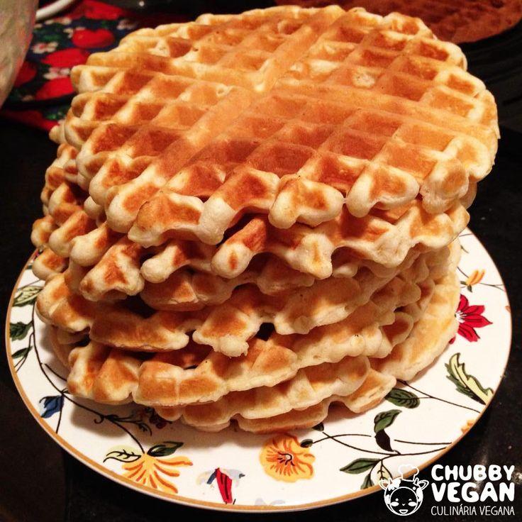 waffle sem lactose e ovos