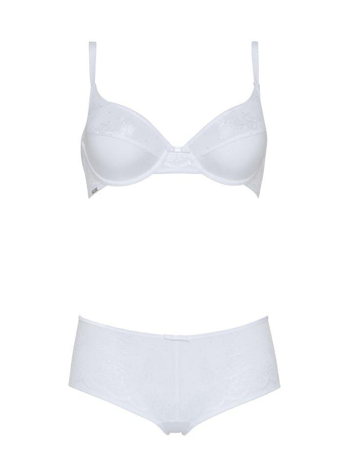 Variance Lingerie - Parure Discrète Blanc - http://boutique.variance.fr/lingerie/612-soutien-gorge-coque-galbe-rond-discrete-blanc-3131681610695.html