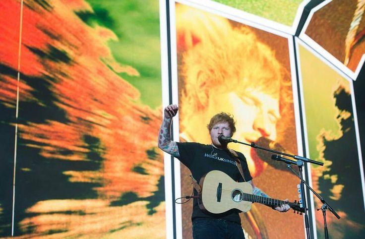 Ed Sheeran. Divide tour 2017