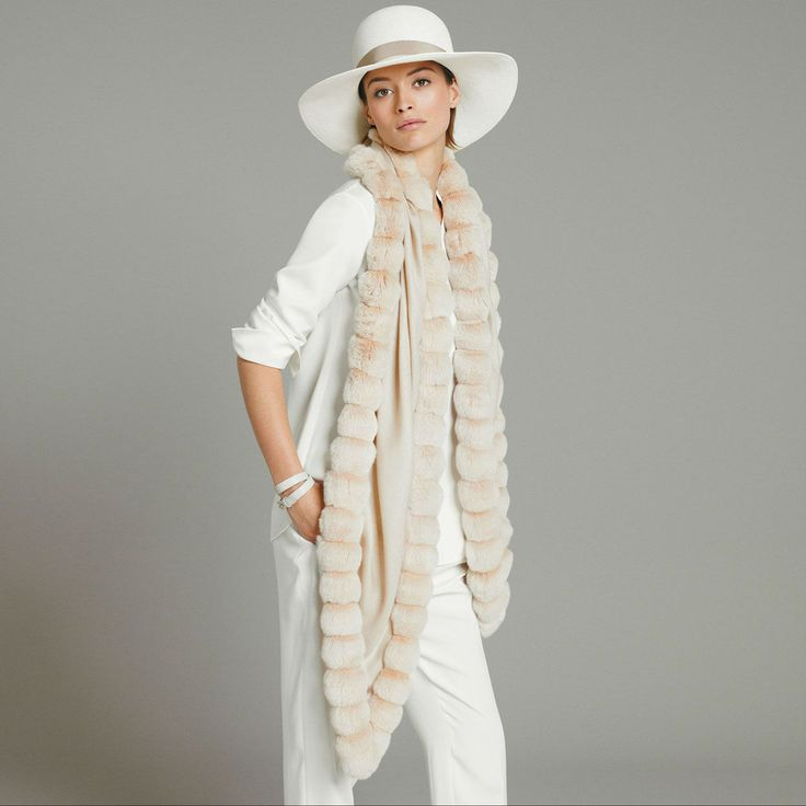 Ladies' Highlights Spring Summer   Loro Piana (I LKE IT BUT WITHOUT THIS PARTICULAR HAT - EK)