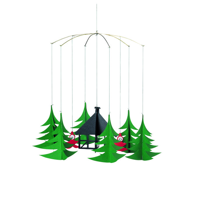 Pixies in the Christmas Forest by Flensted Mobiles