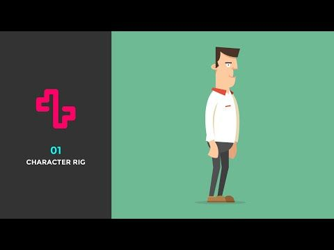 Tutorial 01 - Character Rigging - YouTube