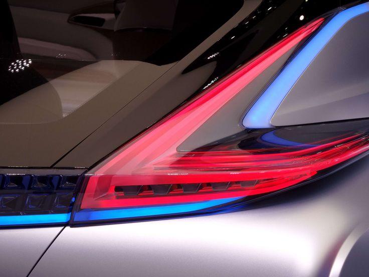 #automobile #car #design #nissan #prototype #rear #showroom #vehicle