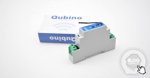 Qubino sort son module rail DIN variateur Z-Wave