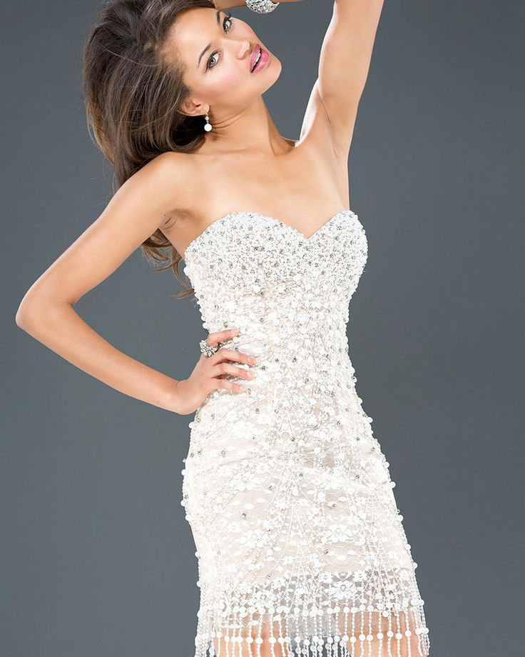 Rhinestone Cocktail Dresses