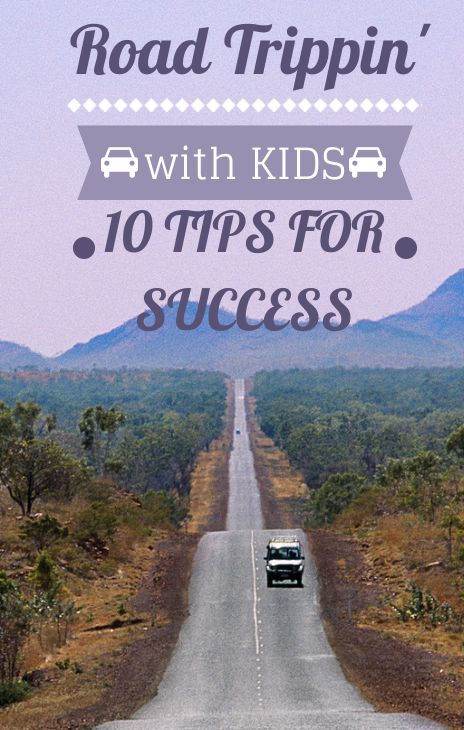 10 Tips & tricks to make road trips with kids easier.