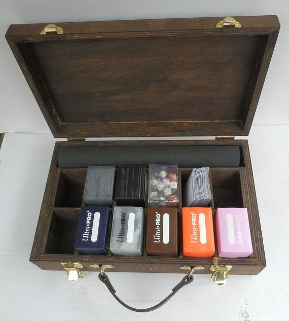 how to build a mtg deck box