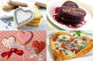 Romantic food ideas  - Heart-shaped food