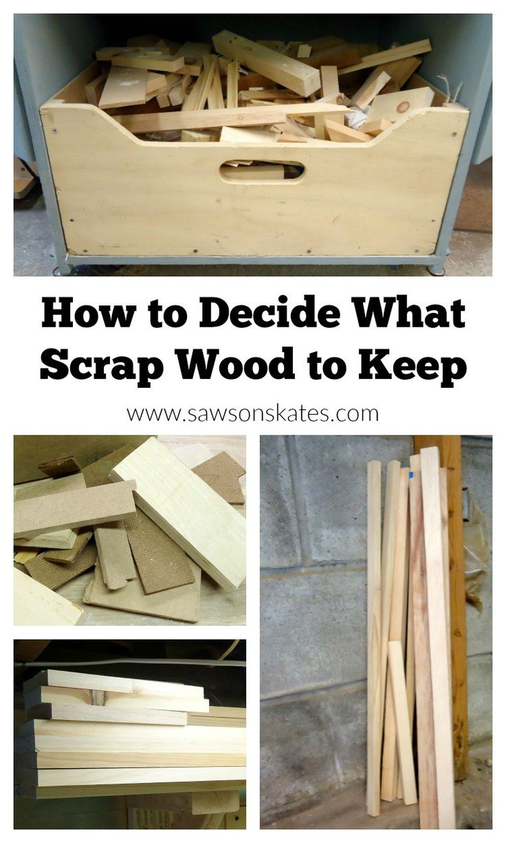 Scrap wood can be great for quick and easy projects but how do you know what…