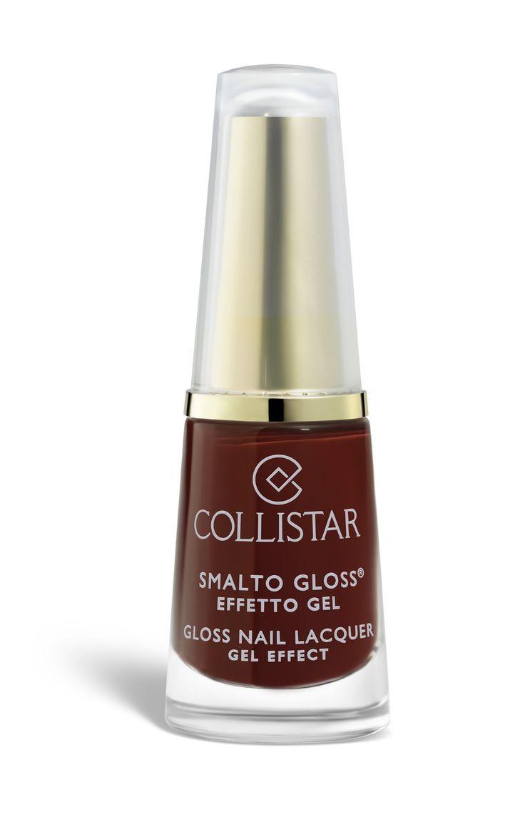Smalto Gloss Effetto Gel N° 582 Rosso Lacca#collistar #marsala #color #2015 #makeup #beauty #look #smalto #unghie #nail #red #rosso #lacca