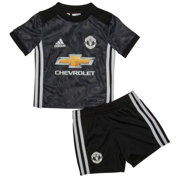 Manchester United Away Kids Football Kit This Manchester United Away Kids Football Kit 2017 2018 has been crafted with breathable technology to help keep you cool and comfortable, whilst the round neck and short sleeves supplies a classic look and the club crest on the chest allows you to show your support for probably the most […]