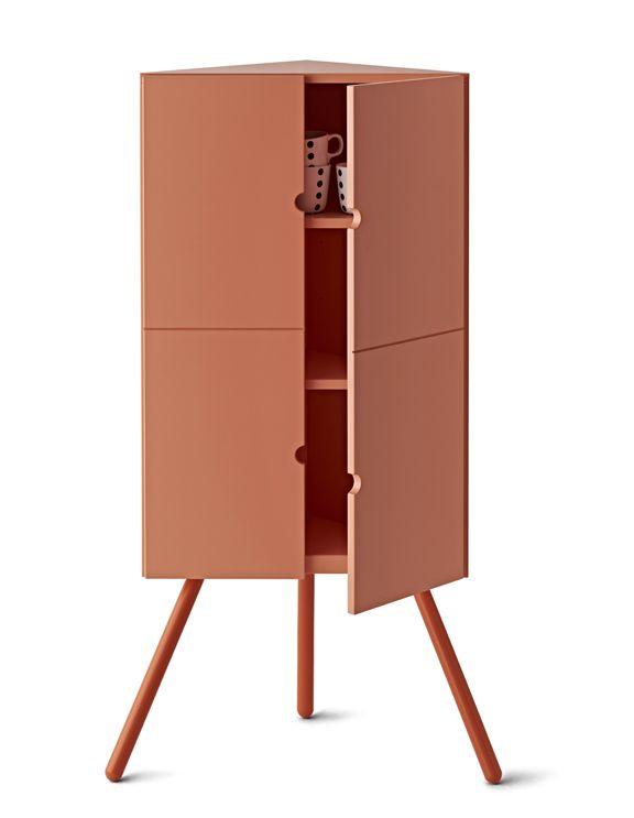 IKEA's New Line of Portable Furniture: The Corner Cabinet