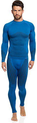 Ladeheid Hombre Ropa Interior Funcional Calzoncillos largos plus Camisa de manga larga Termo activo 50u10u20 (Azul, S/M) Ladeheid https://www.amazon.es/dp/B017RGPVNU/ref=cm_sw_r_pi_dp_BEecxbQSRXC8P