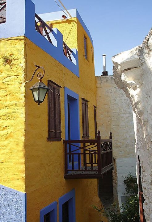 House in Ano Syros, Cyclades, Greece