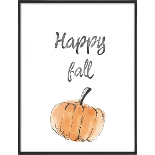 Happy fall art print- 68